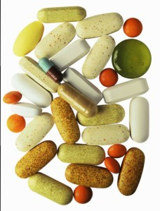 Assortment of pills and supplements