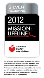 2012 Mission: Lifeline Silver Award