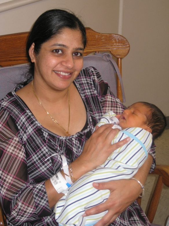Durham Regional Hospital's first baby of 2013