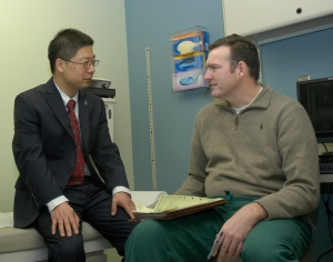 Chinese physicians visit