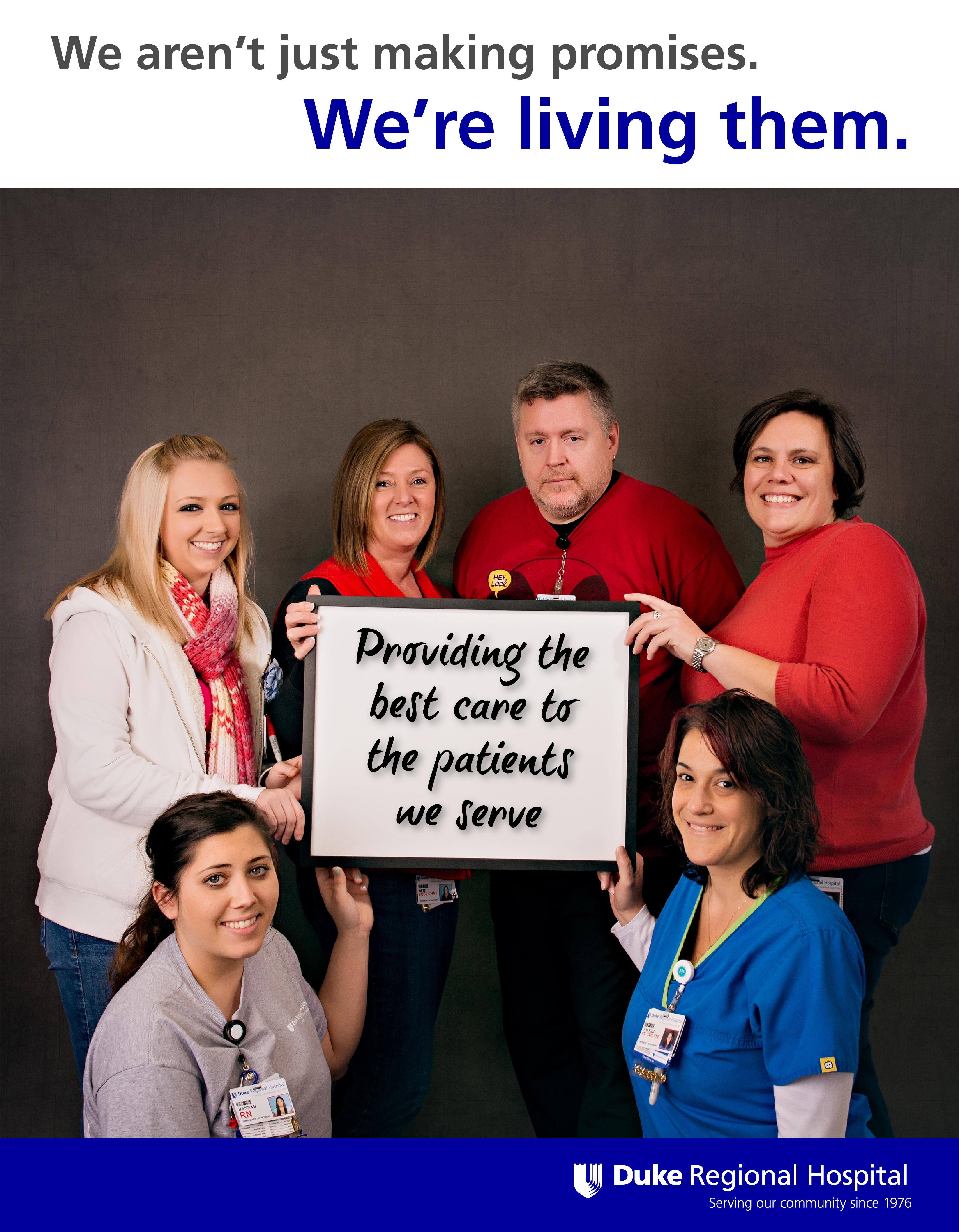 Living Our Promise | Duke Regional Hospital | Page 2