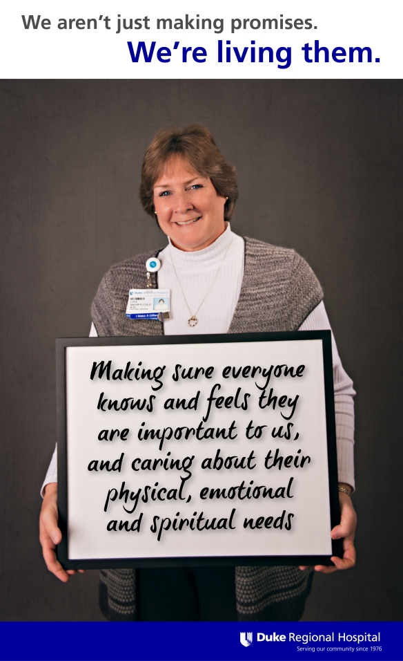 Lisa of Pastoral Services. Learn more about our promise at http://www ...