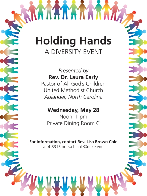 Holding Hands flyer