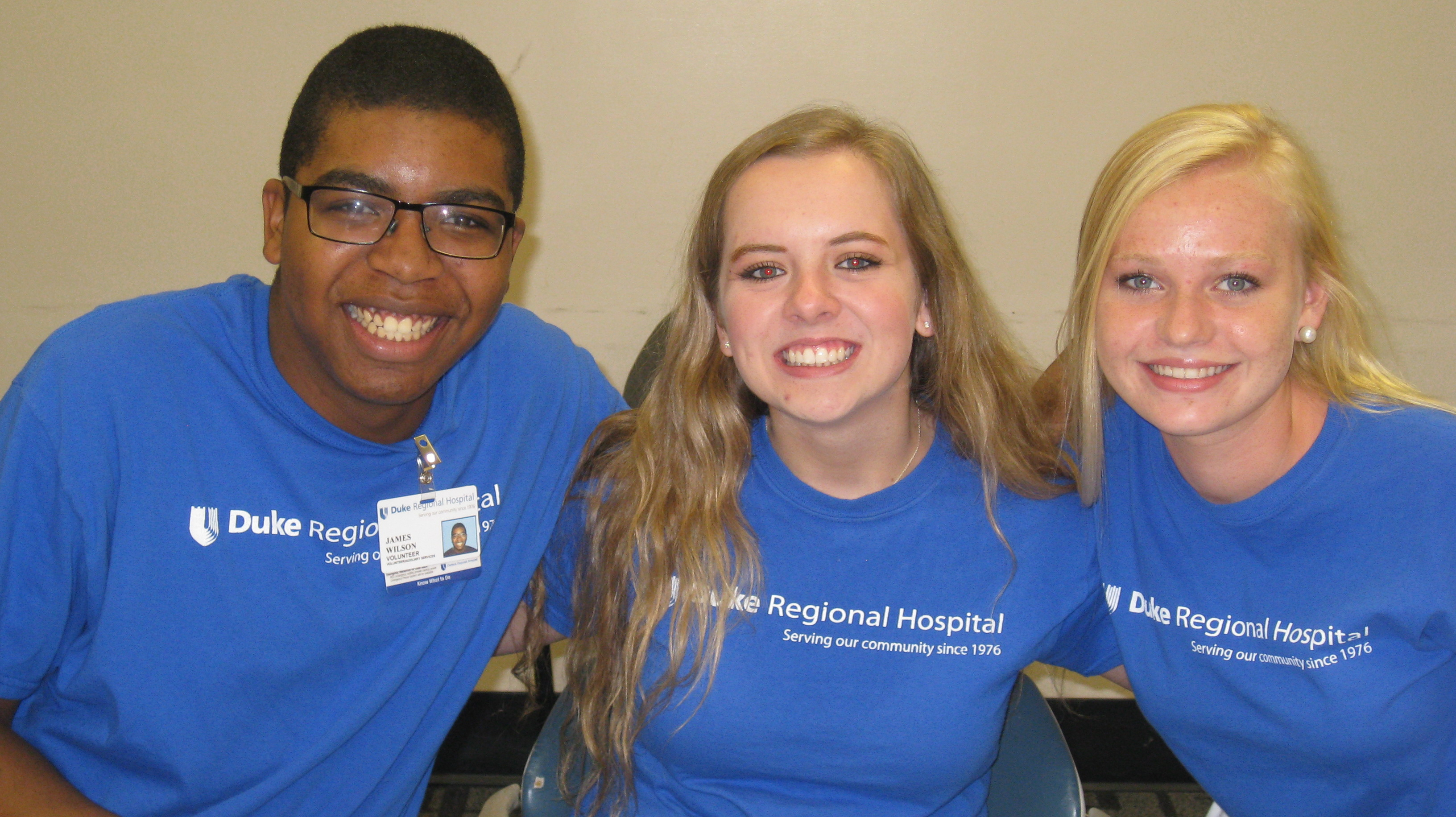volunteer opportunities duke regional hospital each summer duke regional s junior volunteer program offers teens 15 18 years of age the chance to make a difference in their community